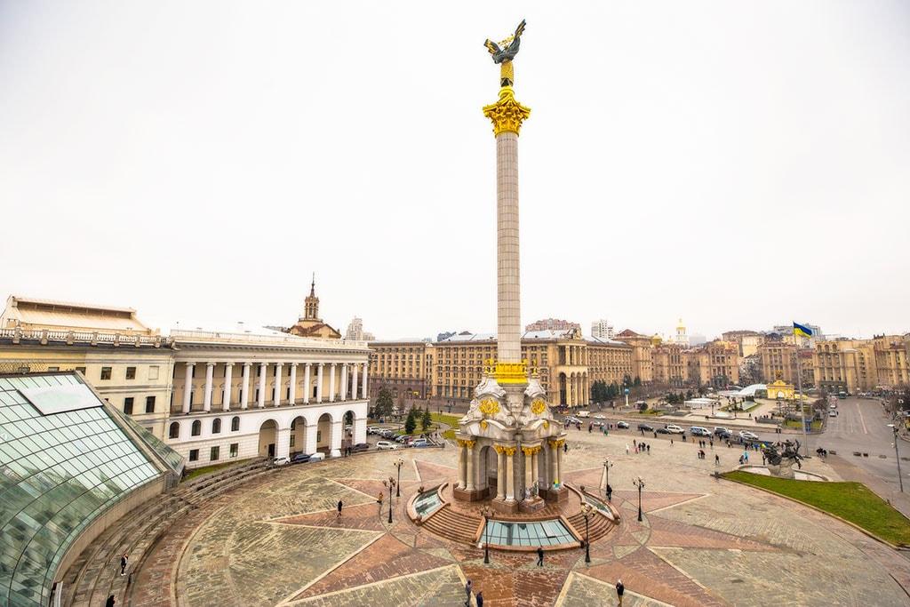 אוקראינה, קייב, הכיכר המרכזית